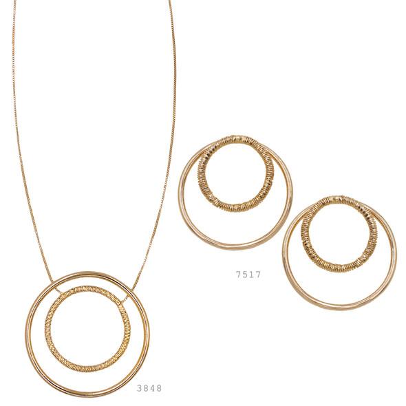 3848 necklace $24,75 / 7517 earrings $18,00