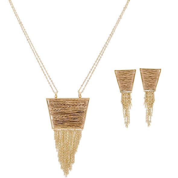 3791 necklace $31,88 / 7444 earrings $20,25