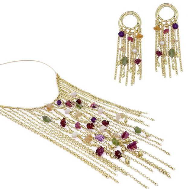 3547 necklace-$34,50 / 2114 earrings-$18,00