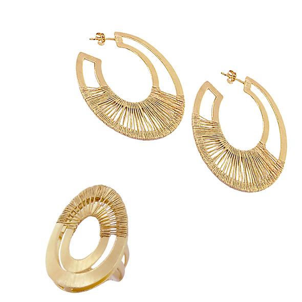 1266 ring $18,38 / 2834 earrings $16,50