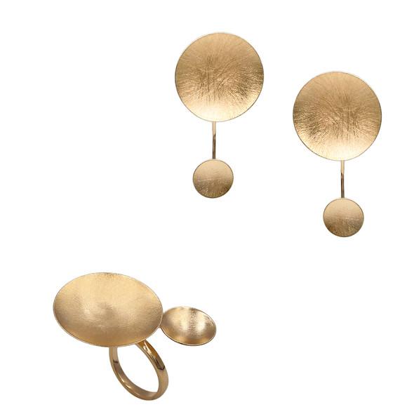 1506 ring $24,75 / 7661 earrings $19,50
