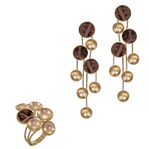 1355 ring $21,38 / 7050 earrings $26,63