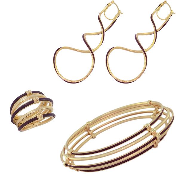 1288 ring $21,38 / 2895 earrings $16,50 / 4295 bracelet $46,88