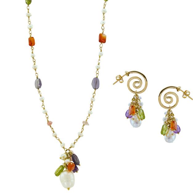 3327 necklace-$24,38 / 2537 earrings-$13,88