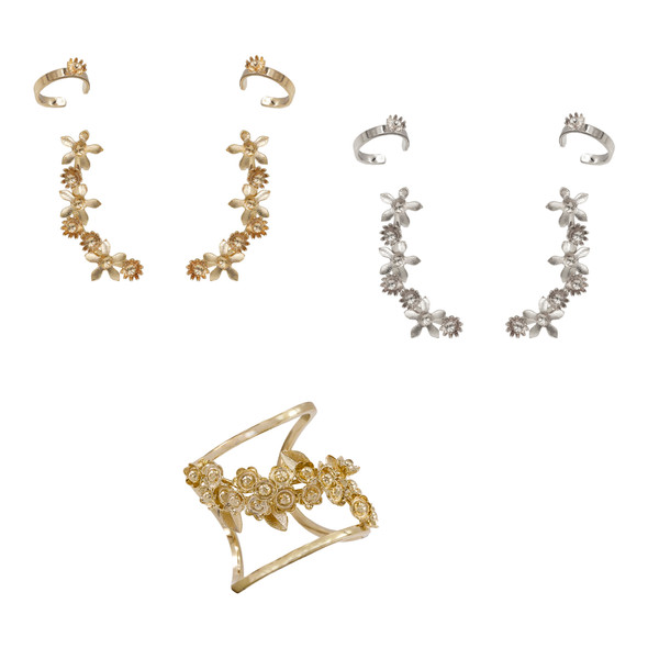 7720 earrings $10,62 / 7721 earrings smaller $3,43 / 1517 ring $19,50