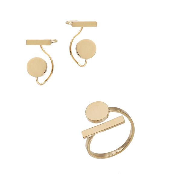 1588 ring $11,56 /  7719 earrings $12,50