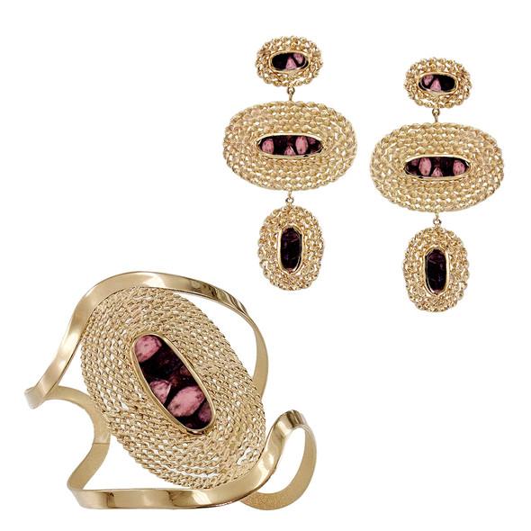 4351 bracelet $30,00 / 7070 earrings $18,43