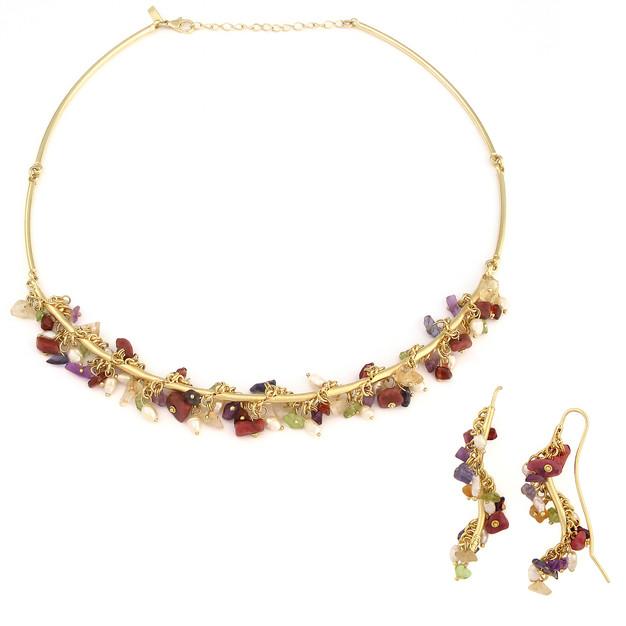 3321 necklace-$45,75 / 2544 earrings $21,75