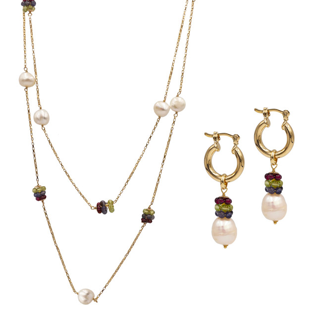 3944 necklace-$24,00 / 7681 earring-$14,25