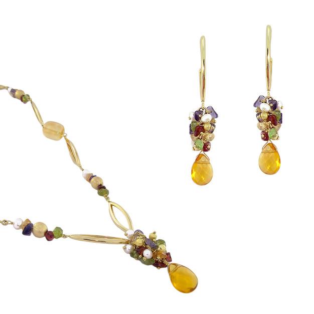 3396 necklace-$33,38 / 2725 earrings $18,38