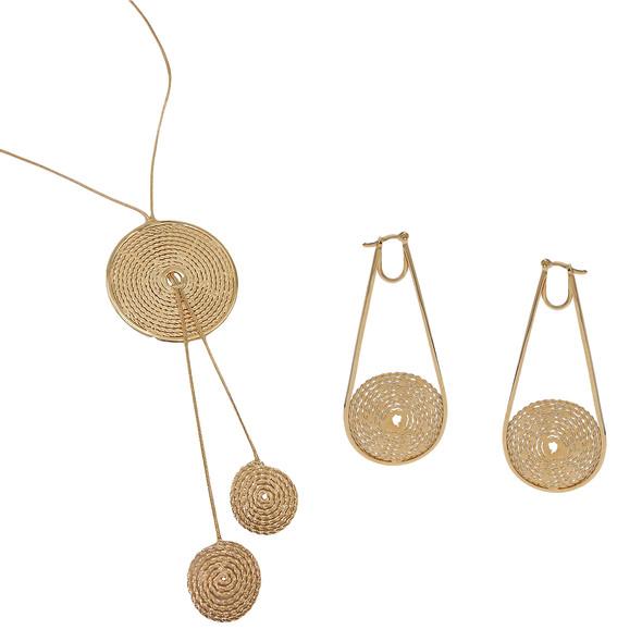 3513 necklace $42,38 / 2919 earrings $20,25