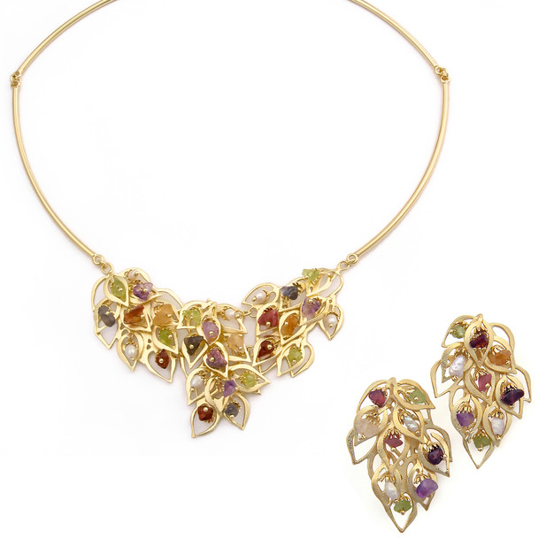 3326 necklace-$57,38 / 2550 earrings-$22,50