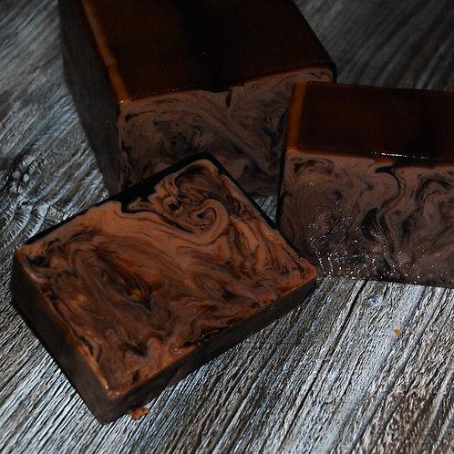 Натуральное мыло «Шоколад» с эфирным маслом какао-бобов