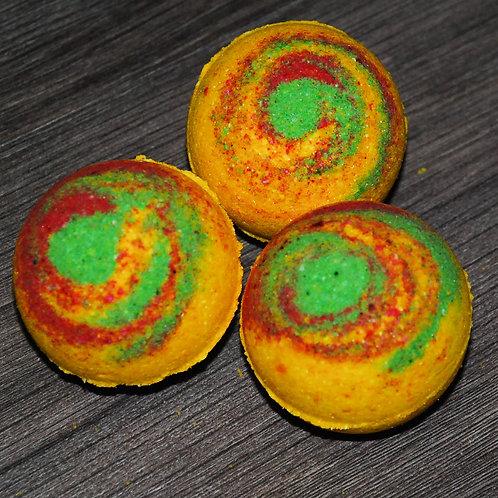 Бомбочки для ванны с эфирным маслом манго - 2 шт