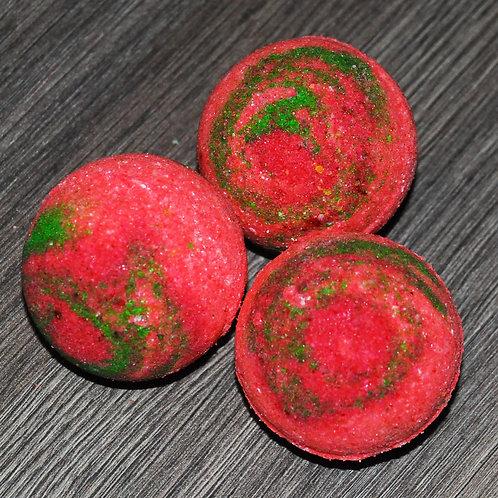 Бомбочки для ванны с эфирными маслами тропических фруктов - 2 шт