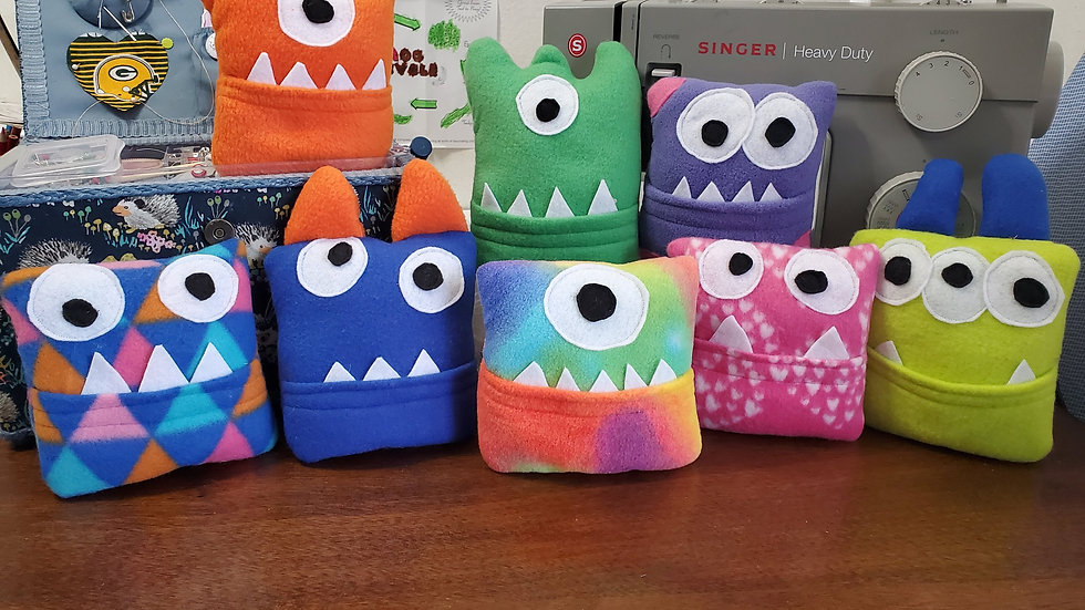 Monster Tooth Fairy Pillows