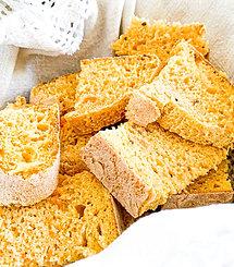 Broa de Batata-doce . 1 unid