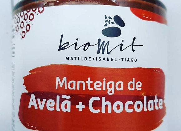 Manteiga de Avelã e Chocolate . 1 unid