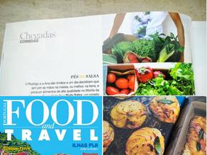 Na revista Food and Travel