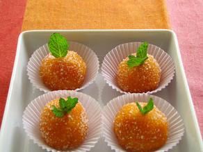 Laranjinhas de cenoura