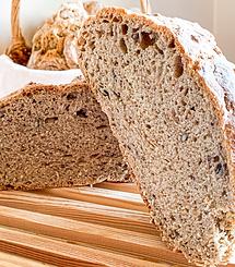 Pão de Trigo c/ Sementes . 1 unid
