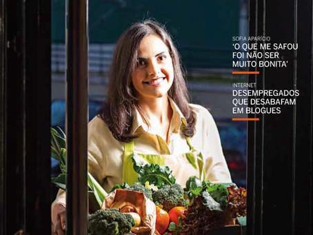Fomos capa da Notícias Magazine