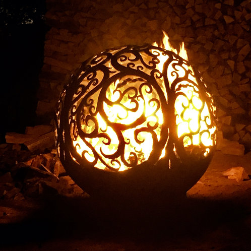 Fire Pit Sphere