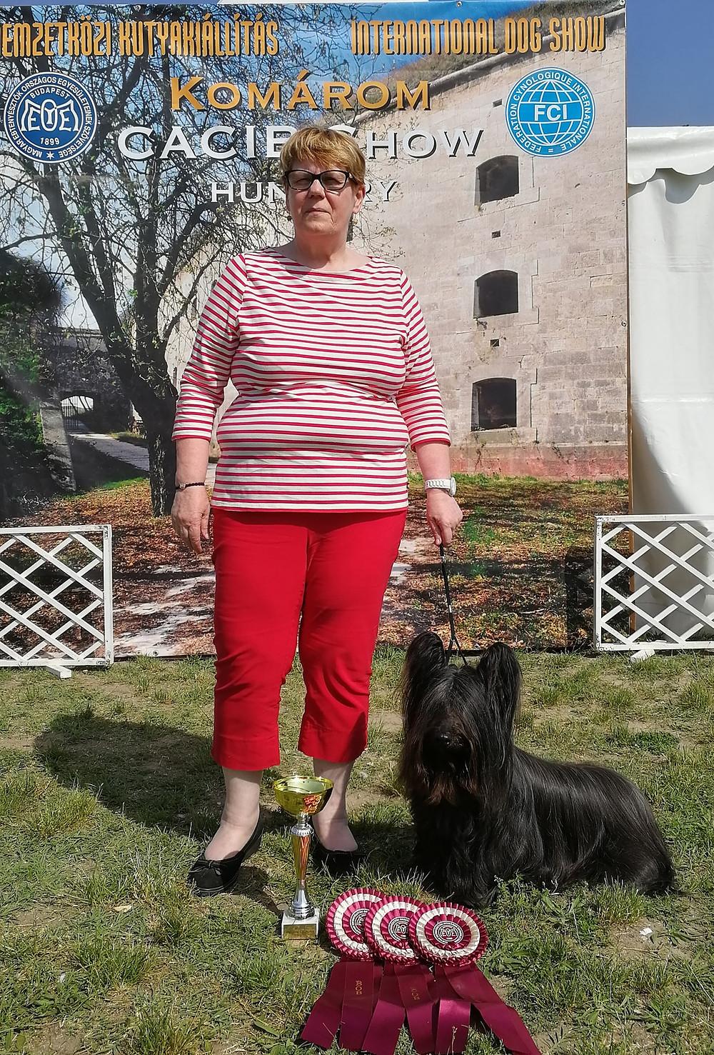 Finnsky Olinda with owner Satu <3