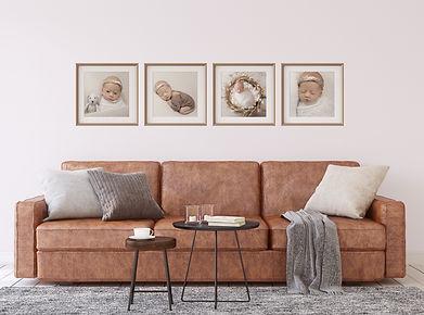 memory wall frames