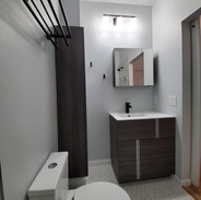 Sophie and Curtis Bathrooms Project.