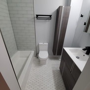 Sophie and Curtis Bathrooms Project Angle