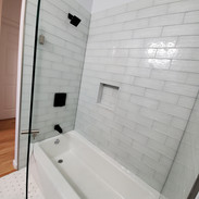 Sophie and Curtis Bathrooms Project Angle 2