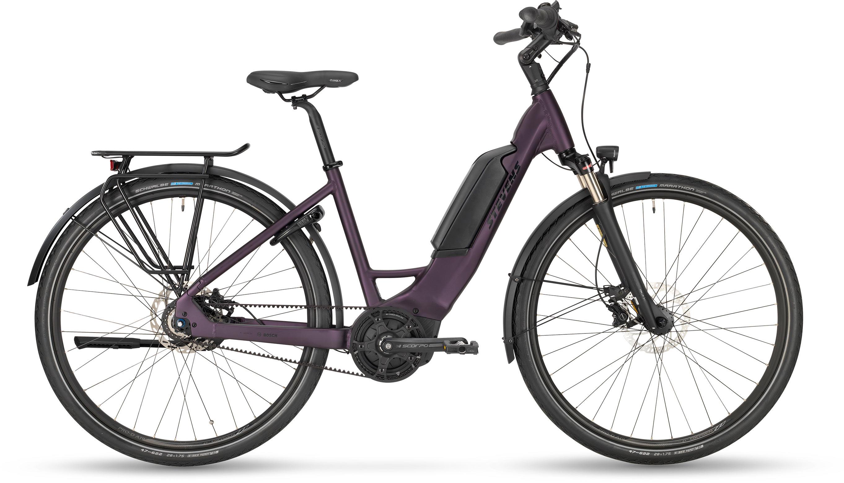 Stevens E-Cito Forma - deep purple