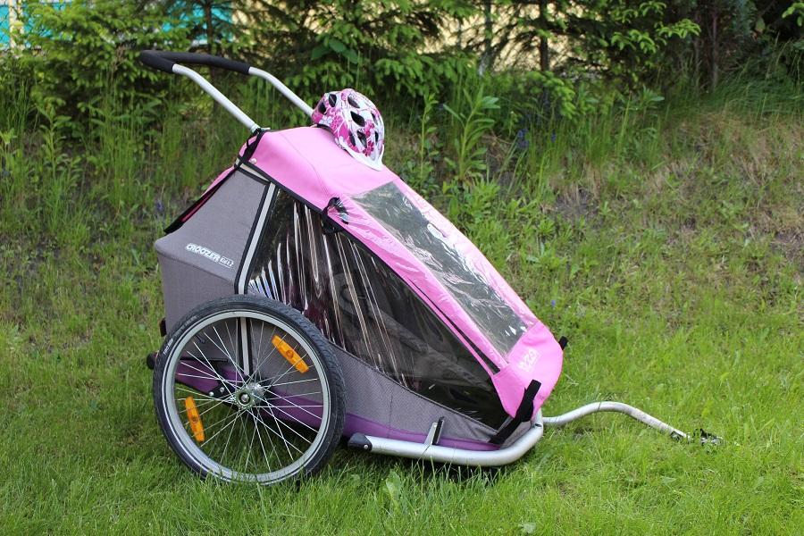 Fahrradverleih Kinderanhänger