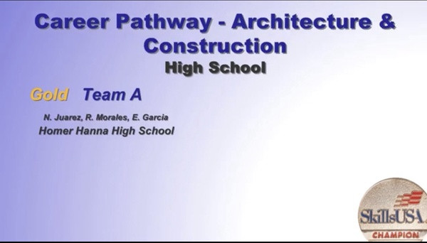 Career Pathway Architecture & Construction