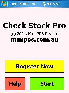 Mini Check Stock Pro