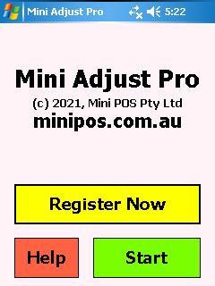 Mini Adjust Stock Sql