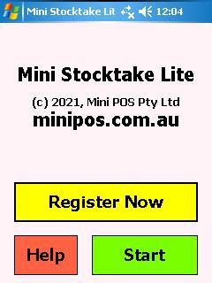 Mini Stocktake Lite