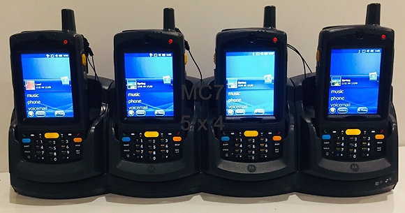 Motorola MC75 x 4 + Cradle