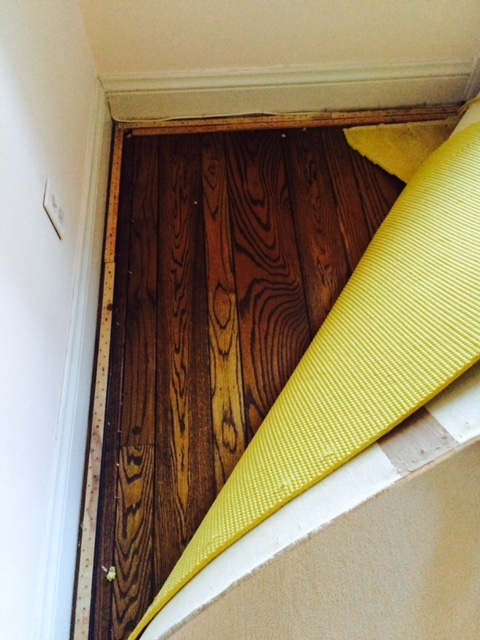 Original floors - saved
