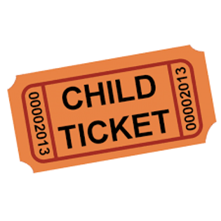 Recital Ticket - CHILD 5 and under - READ DESCRIPTION BELOW