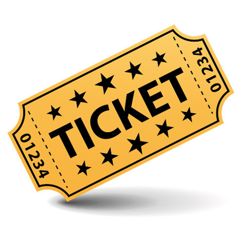 Recital Ticket - READ DESCRIPTION BELOW