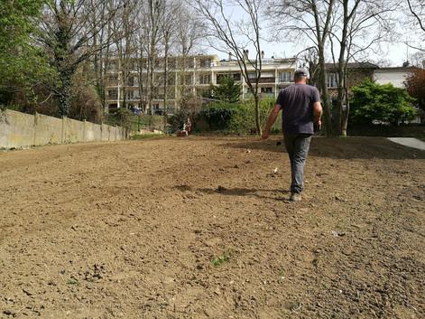 Partenariat avec la ville de Meudon pour implanter des prairies fleuries
