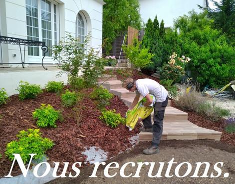 Nous recrutons un(e) jardinier(ère) avec expérience