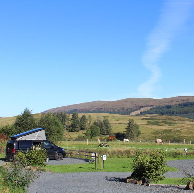 View across Glen Aros