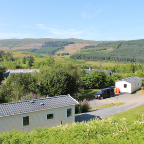 View across the glen