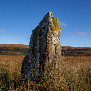 Standing stones at Tenga