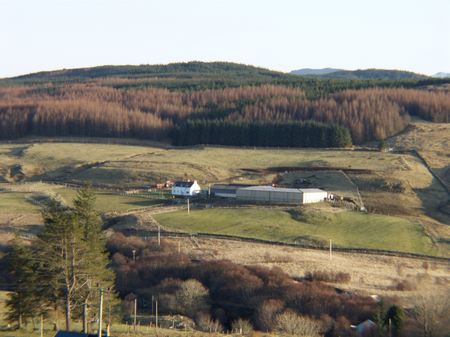 View across to Crannich in 2006