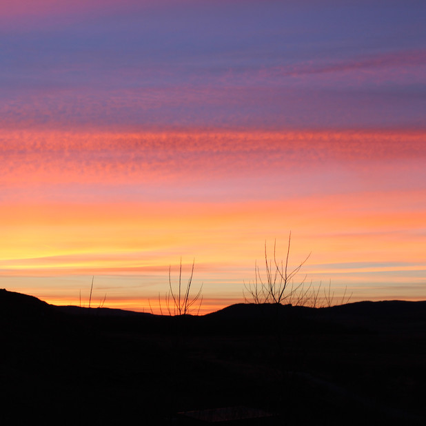Sunset at Crannich