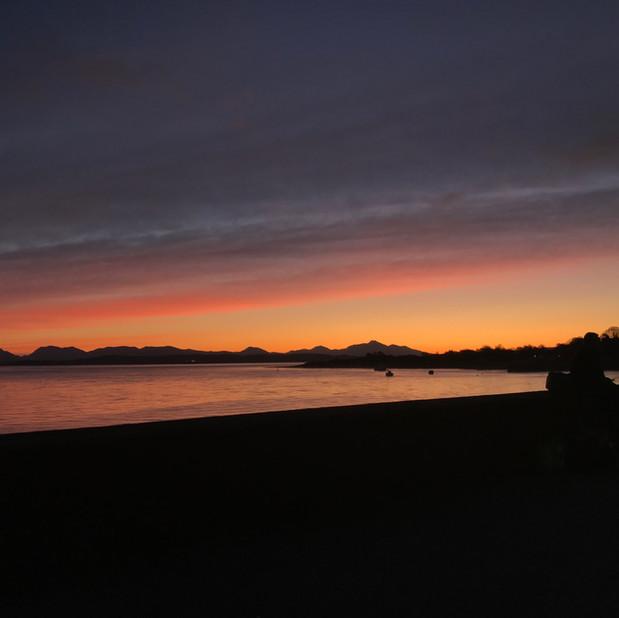Sunrise in Craignure